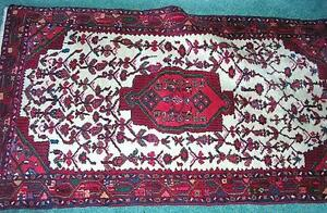 *Price reduced again* Hand made Pakistani Tribal rug