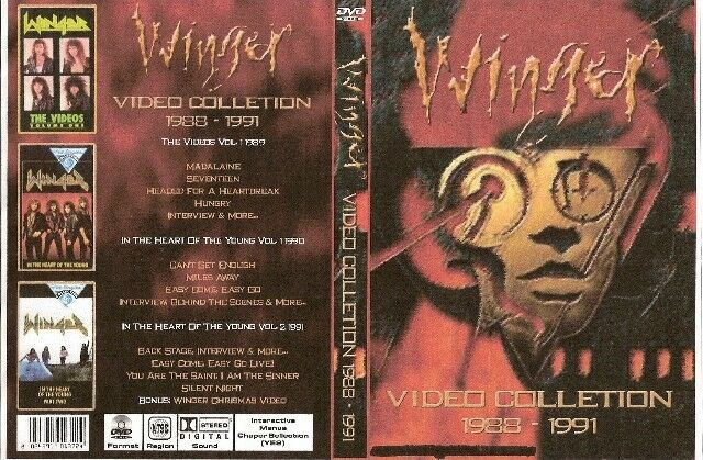 winger video collection dvd 1988-1991 ozzy warrant skid row dio