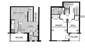 NEW BUILD 2 bedroom stackable townhome condo/1.5 Baths/Kitchener