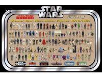 W2 B Vintage Star War, action men, turtles, he man, transformers Gi joe toys