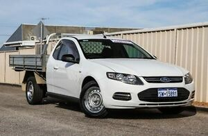 2012 Ford Falcon FG MkII EcoLPi Super Cab White 6 Speed Sports Automatic Cab Chassis Wangara Wanneroo Area Preview