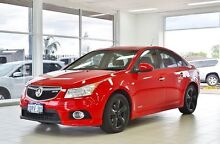 2011 Holden Cruze JH SRi V Red Hot 6 Speed Automatic Sedan Morley Bayswater Area Preview