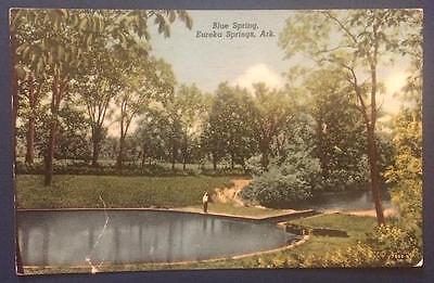 Blue Spring, Eureka Springs, Ark. 1953 Glade's Plumbing & Electrical Shop