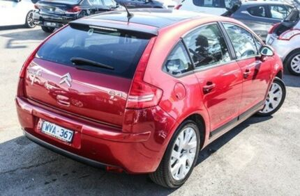 2009 Citroen C4 Red 5 Speed Manual Hatchback Dandenong Greater Dandenong Preview