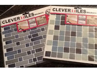 Job lot x12 packs clever tiles - self adhesive stickers