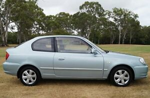 2004 Hyundai Accent LC MY04 GL Celadon Blue 5 Speed Manual Hatchback Bundaberg Central Bundaberg City Preview