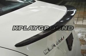 Mercedes Benz CLA Carbon Trunk Spoiler