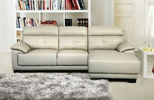 2PC GENUINE LEATHER SECTIONAL ONLY $1299 LOWEST PRICES Kitchener / Waterloo Kitchener Area image 1