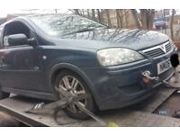 Vauxhall Corsa O/S Wing In Grey Breaking For Parts (2005)