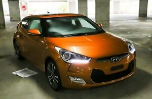 2015 Hyundai Veloster FS4 Series II + Coupe D-CT Orange 6 Speed Sports Automatic Dual Clutch Nunawading Whitehorse Area Preview