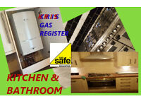 High experience Kitchen & Bathroom **Gas Safe Plumber**