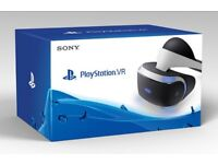 **SEALED** PSVR PLAYSTATION VR PS4 VR BRAND NEW AND INCLUDES ONE YEAR WARRANTY. VIRTUAL REALITY