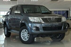 2014 Toyota Hilux Grey Manual Utility Dandenong Greater Dandenong Preview