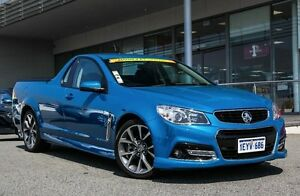2014 Holden Ute VF MY14 SS Ute Storm Blue 6 Speed Manual Utility Cannington Canning Area Preview