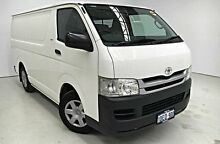 2009 Toyota Hiace TRH201R MY08 LWB White 4 Speed Automatic Van Edgewater Joondalup Area Preview