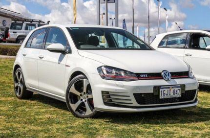 2017 Volkswagen Golf VII MY17 GTi Pure White 6 Speed Manual Hatchback
