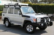 2016 Toyota Landcruiser VDJ76R GXL Silver 5 Speed Manual Wagon Acacia Ridge Brisbane South West Preview