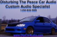 Disturbing the peace car audio