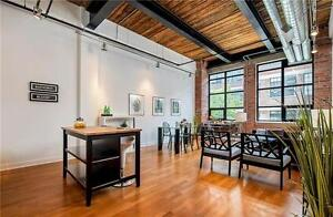 Beautiful One Bedroom Authentic Hard Loft At Toy Factory