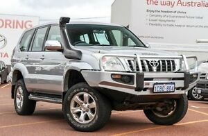 2005 Toyota Landcruiser Prado KZJ120R GXL Silver 5 Speed Manual Wagon Westminster Stirling Area Preview