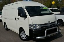 2013 Toyota Hiace KDH221R MY12 Super LWB White 4 Speed Automatic Van Phillip Woden Valley Preview