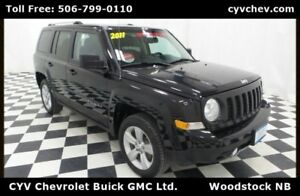 2011 Jeep Patriot Limited - 4x4, Heated Leather & Sunroof