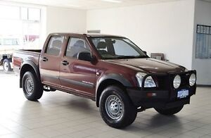 2004 Holden Rodeo RA LX (4x4) Maroon 5 Speed Manual Crewcab Morley Bayswater Area Preview