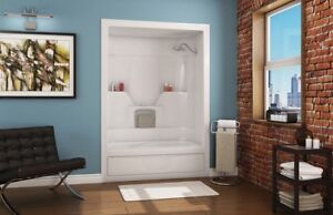 3 piece tub and shower unit. TUB AND SHOWER  WHITE ACRYLIC MAAX ASPEN 3 Piece Tub Unit Kijiji in Ontario Buy Sell Save with