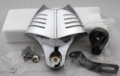 Horn Cover for Harley Davidson Dyna Softail Glide  - CHROME - Big Twin