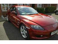 Mazda RX8 great condition and runner. HPI clear. 2 keys and docs.