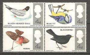 1966 British Birds ( Phosphor ) Mint Never Hinged.
