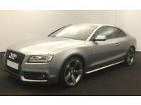 Grey AUDI A5 COUPE 1.8 2.0 TFSI Petrol SPORT S LINE FROM £51 PER WEEK!
