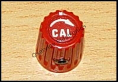 1 Pcs Tektronix 366-1031-03 Knob Red Cal Arrow 2213 2215 Oscopes
