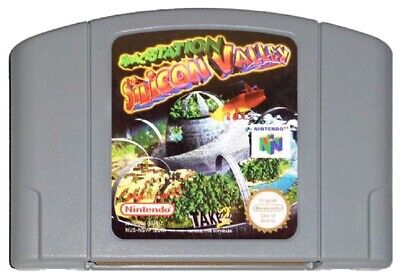 SPACESTATION SILICON VALLEY (PAL N64 Game) Space Station Nintendo 64 GENUINE A