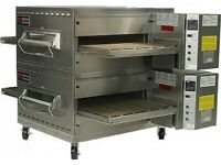 Middleby Marshall - PS540G -DOUBLE Pizza Conveyor ovens - 32 Inch belts Gas