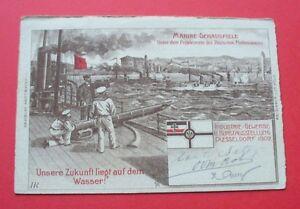 Düsseldorf - 1902 - Deutschland --- Marine Schauspiele, Dampfschiff Schiff ship - Besko, Polska - Düsseldorf - 1902 - Deutschland --- Marine Schauspiele, Dampfschiff Schiff ship - Besko, Polska