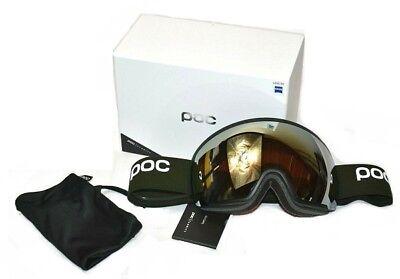 69b9ebefce30 POC Orb Clarity Polydenum Green   Spektris Gold Zeiss Lens Ski Snowboard  Goggles