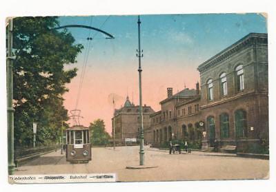AK / Diedenhofen...Thionville...Bahnhof...l..gel. 1918
