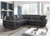 !!SALE!! SHANNON FABRIC SOFAS AVAILABLE IN 3+2, CORNER OR SWIVEL CHAIR !!SALE!!