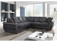 BRAND NEW FABRIC CORNER OR 3+2 SHANNON SOFA NOW ON SALE