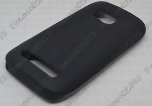 Black-Matting-TPU-Silicone-CASE-Cover-For-Nokia-Lumia-710