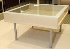 Ikea Coffee Table - Glass top - very good condition