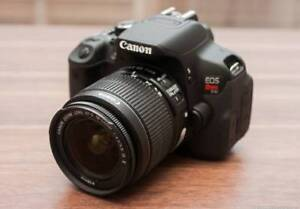 Canon Rebel T4i 18MP DSLR Camera with 18-55mm IS Lens