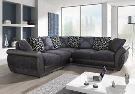 SHANNON FABRIC SOFA SALE !! AVAILABLE IN 3+2, CORNER OR SWIVEL CHAIR