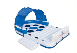 8 person Party Raft with Canopy  PRICE REDUCED!!
