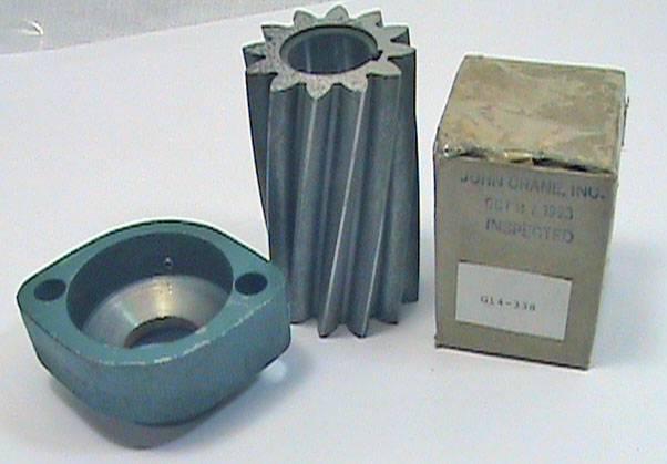 Roper Pump Co. Conversion Kit N34-74 Gear Flange John Crane G14-338 seal kit NOS
