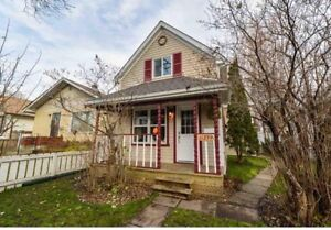 Full house for rent, minutes from Downtown. Available Oct 1st