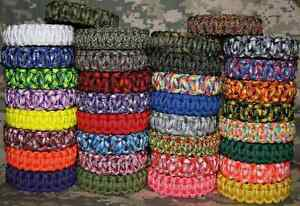 Canadian Made 550 Paracord Survival Bracelets & Accessories