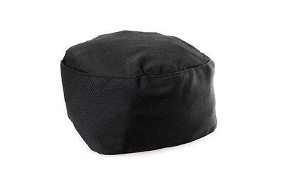 Black Chef Hat Adjustable Elastic Back Catering Cap Kitchen Cook Food Baker New