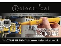 i-electrical- Professional+Approved 17th Edition Electricians - Residential/Commercial- EICR- £80
